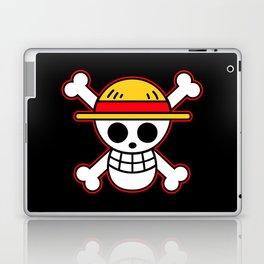 Straw hat Flag Laptop & iPad Skin