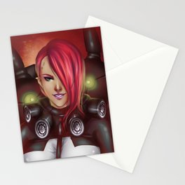 The Cold Wind of France Stationery Cards