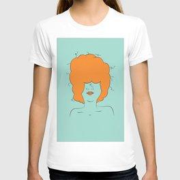 Orange Blues By Kendall Morgenstein T-shirt