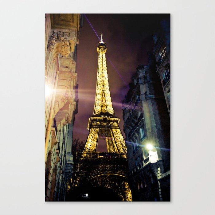 Paris La Nuit Canvas Print