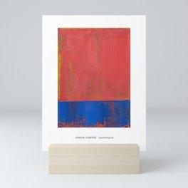 Simon Carter Painting Lovehearts Mini Art Print