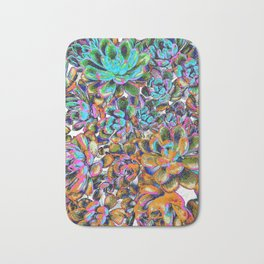 Floral tribute [galaxy] Bath Mat