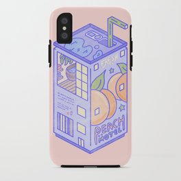 Peach Motel iPhone Case