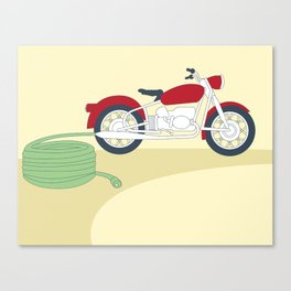 Electric Motorcycle Canvas Print