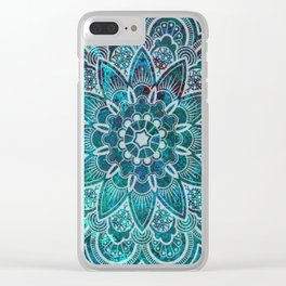 Lacey Mandala Clear iPhone Case