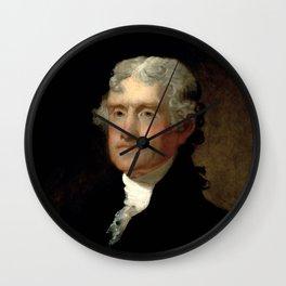 President Thomas Jefferson Wall Clock