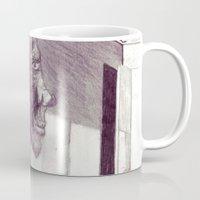 air jordan Mugs featuring Jordan by seb mcnulty