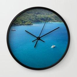 Labadee Haiti Wall Clock