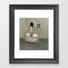 frida kahlos' grandgrandgrandmother Framed Art Print
