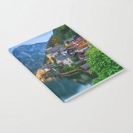 Hallstatt Village, Alps Notebook