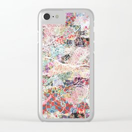 Florence map Clear iPhone Case