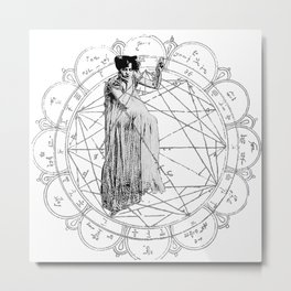The Bane of the Spider Queen Occult Metal Print