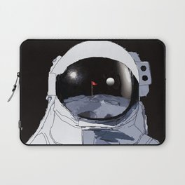 Astronaut Golf Course on the Moon Laptop Sleeve