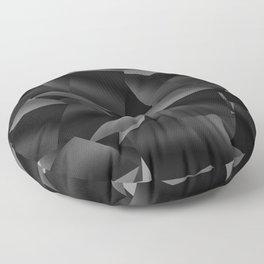 Black Fade Cubes Floor Pillow