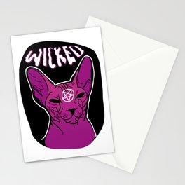 Wicked Sphynx Stationery Cards