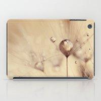 dandelion iPad Cases featuring dandelion  by Ingrid Beddoes