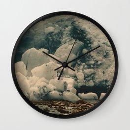 """""""Kjenndalsbreen Glacier Norway"""" Wall Clock"""