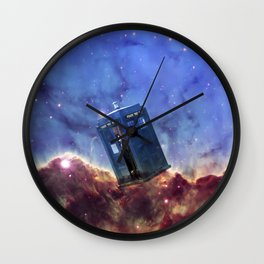 DOCTOR WHO OF NEBULA Wall Clock