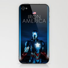 IRON AMERICA 9/11 iPhone & iPod Skin