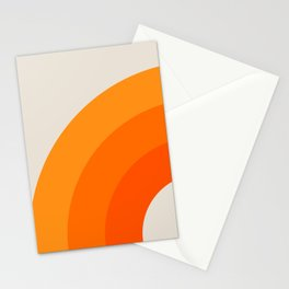 Creamsicle Bow Stationery Cards