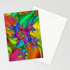 Explosion in a paint factory! Stationery Cards