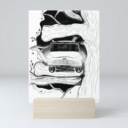 Harry, Ron and their first car ride Mini Art Print