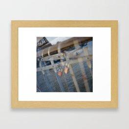 Paris, The Passerelle Debilly Framed Art Print