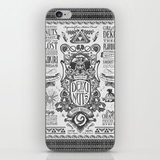 Legend of Zelda inspired Deku Nuts Vintage Advertisement iPhone & iPod Skin