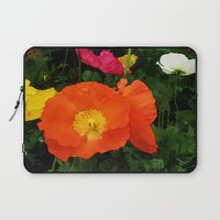 Poppies One Laptop Sleeve