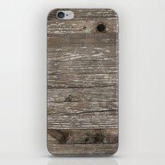 Old wood texture iPhone & iPod Skin