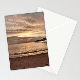 Paignton Pier Sunrise Stationery Cards
