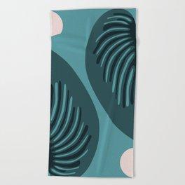Hjärtblad Beach Towel