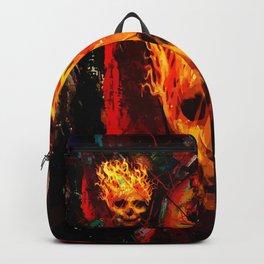 Hot skull Backpack
