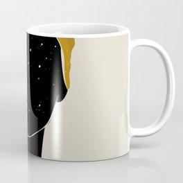 Black Hair No. 10 Coffee Mug