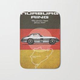Nürburgring Vintage 300SLR Uhlenhaut Coupe Bath Mat