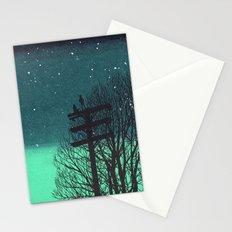 Gone Away Night Stationery Cards