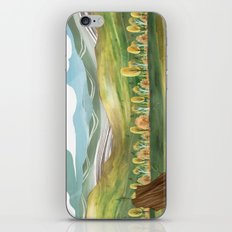 Goldenrod Grassland iPhone & iPod Skin