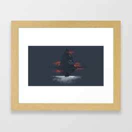 Sword art online place v2 Framed Art Print