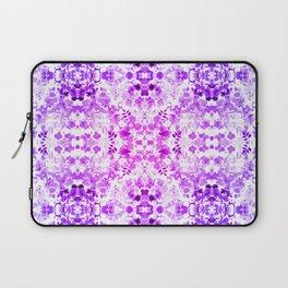 Floral Print - Magenta & Purple Laptop Sleeve