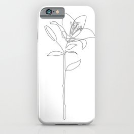 Fill Lily iPhone Case
