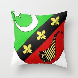 Saïda_Coat of Arms_(French_Algeria) Throw Pillow