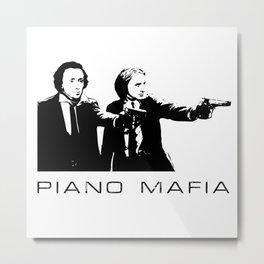 Piano Mafia - Chopin, Liszt Metal Print