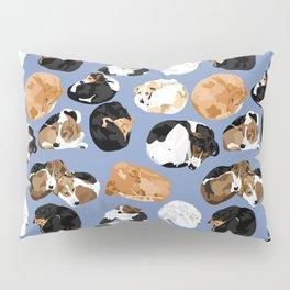 Coonie Curl Blue Pillow Sham