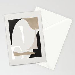 Abstract Shapes 3 Stationery Cards