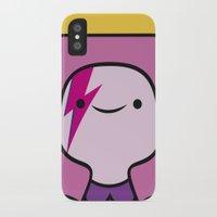 princess bubblegum iPhone & iPod Cases featuring Princess Bubblegum  by lapinette
