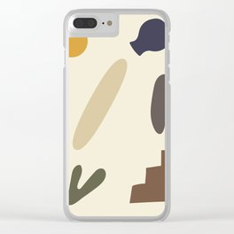 Shapes 1 - Africa collection Clear iPhone Case