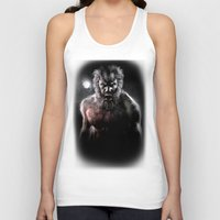werewolf Tank Tops featuring Werewolf by Joe Roberts