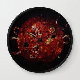Voyage into infinity Wall Clock