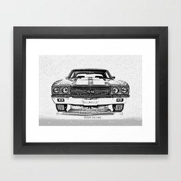 1970 Chevelle Framed Art Print