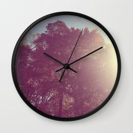 The Trees - Show Me the Way Wall Clock